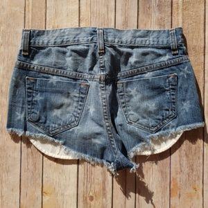 Vans Shorts - Vans x Jesse Jo Star Jean Shorts - Size 3